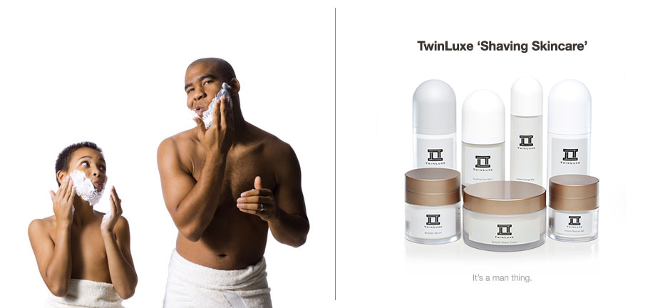 TwinLuxe Shaving Skin Care - best mens and womens luxury skincare products