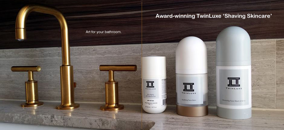 TwinLuxe - art for your bathroom